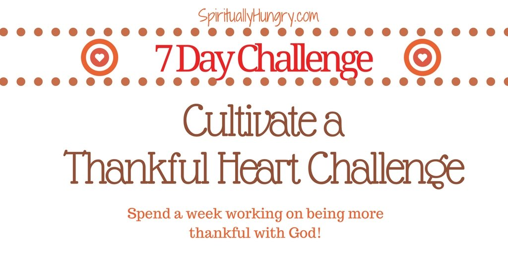 One Week Thankful Heart Challenge