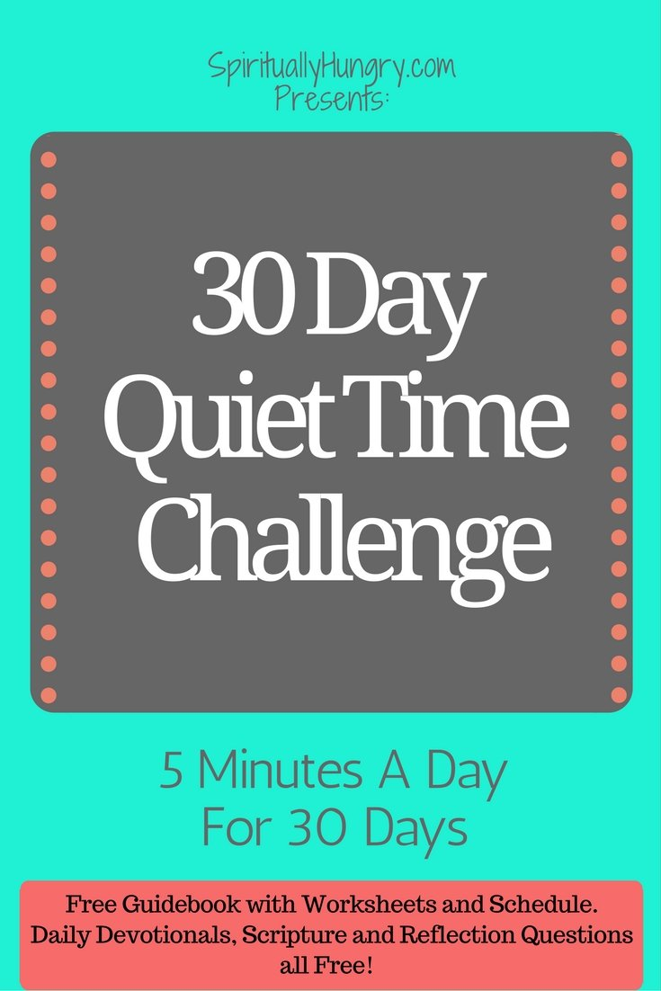 Trouble making space in your day for God? Take this Challenge and find the inspiration to make changes to your routine.