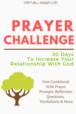 Prayer, Christian Challenges, 30 Day Christian Challenge