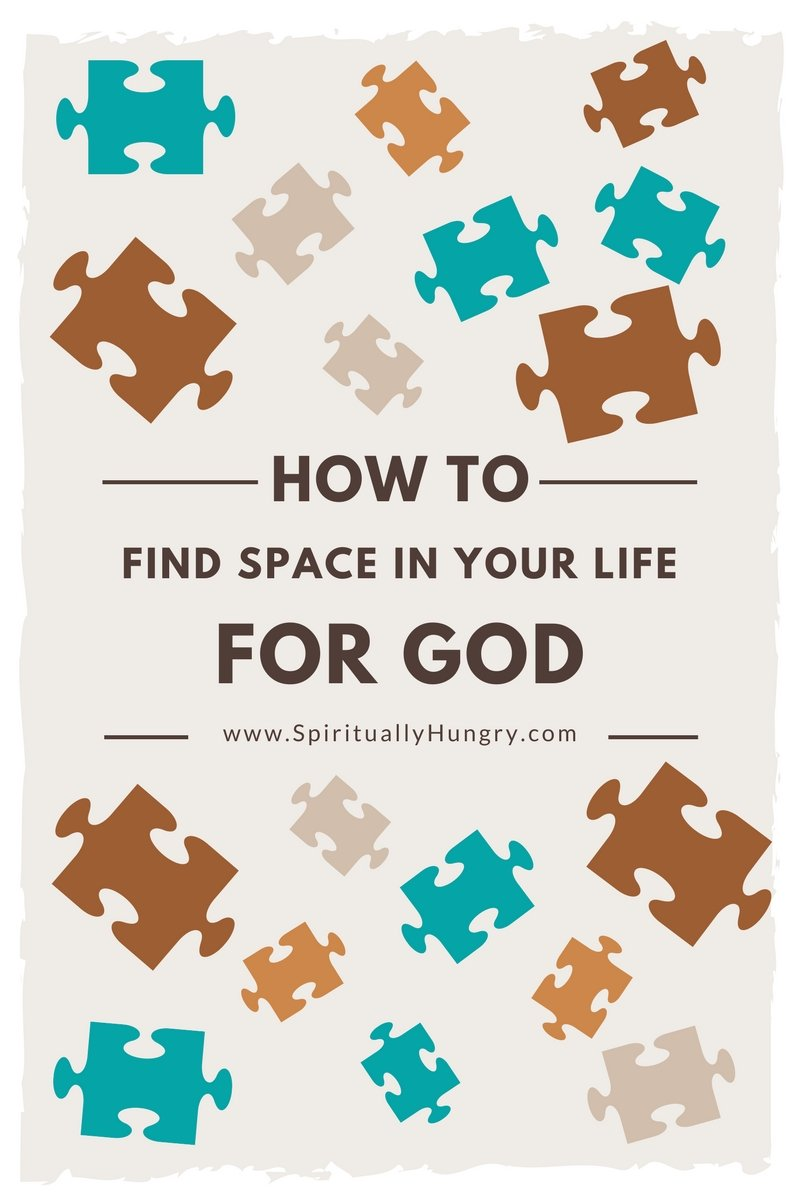 Part 3 of a 4 part devotional series on combating busyness and creating space for God. In this devotion we will discuss the need for finding space and thoughtful questions to help you find some space for God in your routine!