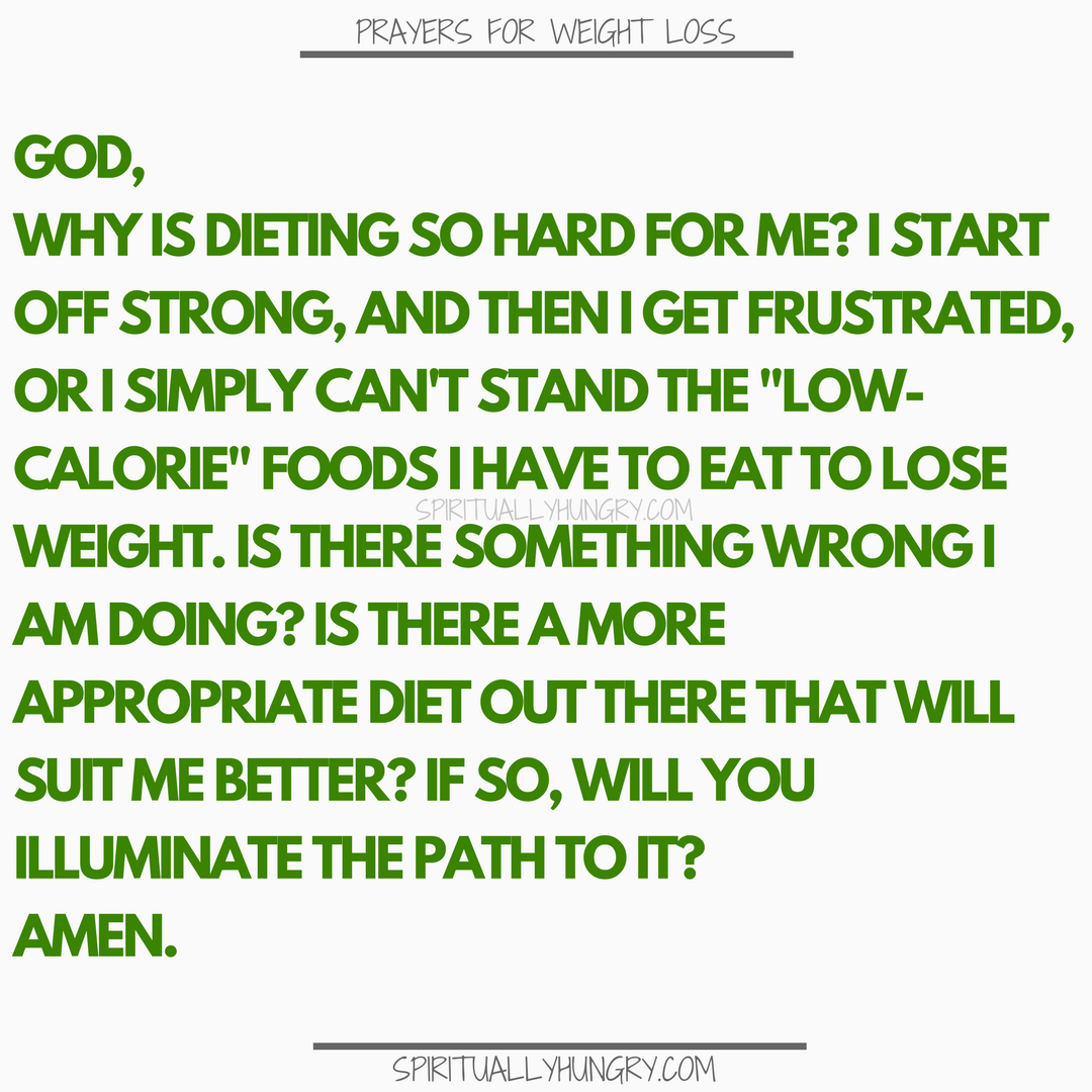 Prayer For Dieting | Prayers For Dieting
