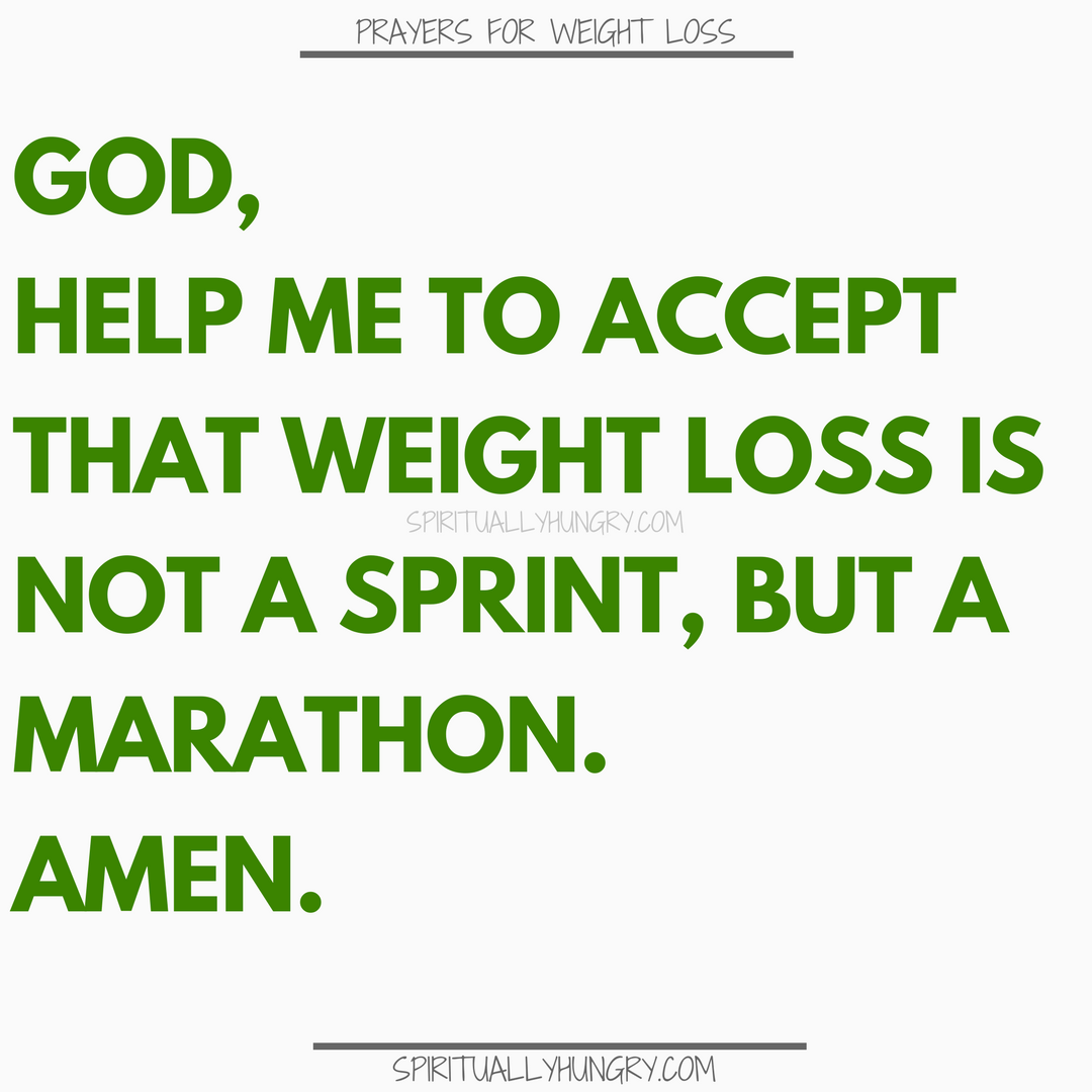 Prayer For Losing Weight | Prayers For Losing Weight