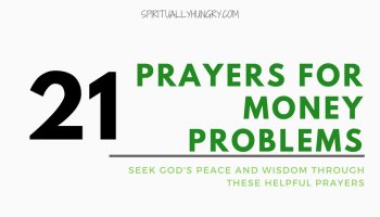 20 Bible Verses About Money Problems - Spiritually Hungry