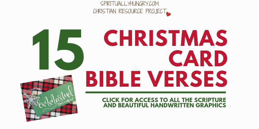 Christmas Scriptures.15 Christmas Verses For Cards Spiritually Hungry
