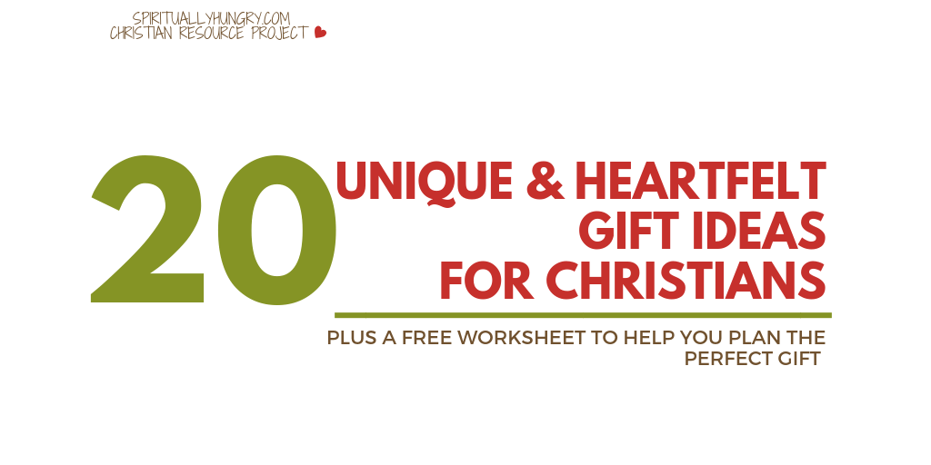 20 Great Heartfelt Christian Gift Ideas