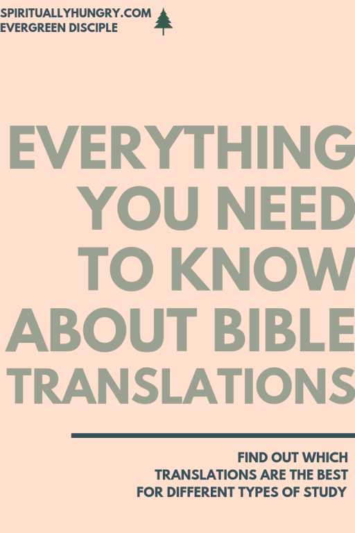 Everything You Need To Know About Bible Translations | Bible Study | Bible