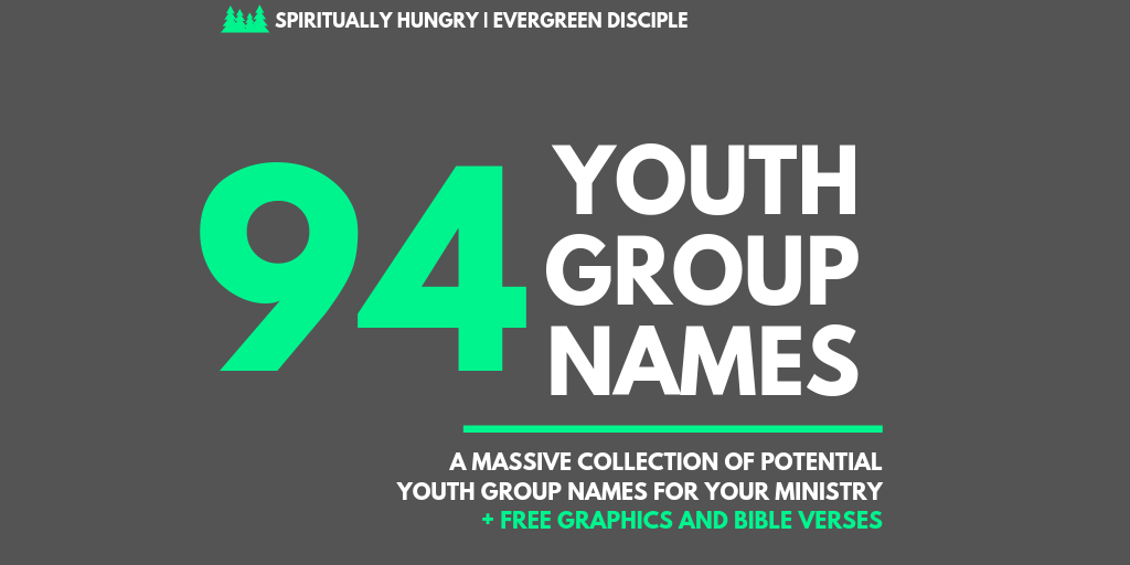 94 + Youth Group Names