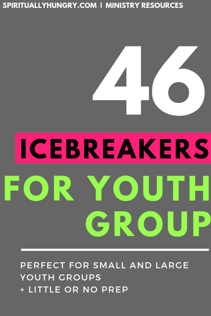 Youth Group Icebreakers | Icebreakers For Teens | No Prep Youth Group Games