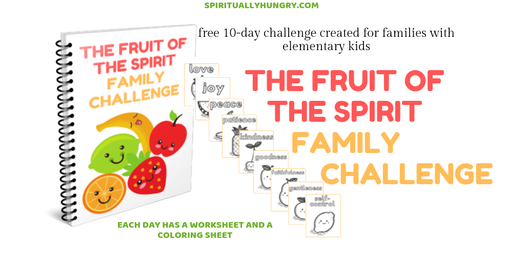 The Fruit Of The Spirit Family Challenge