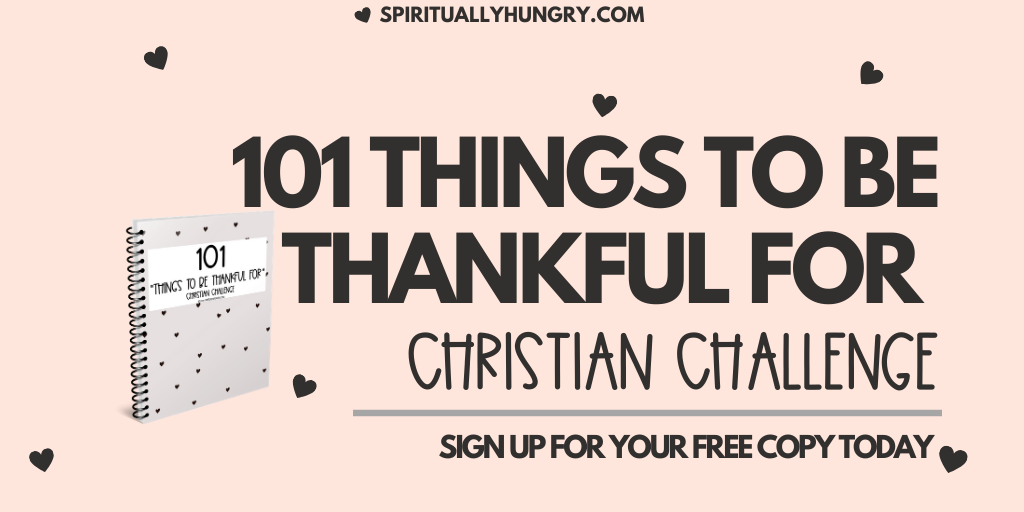 101 Things To Be Thankful For Challenge