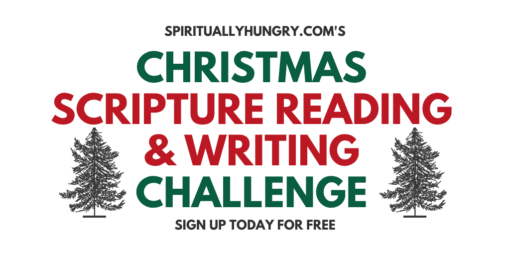 December Scripture Reading And Writing Challenge