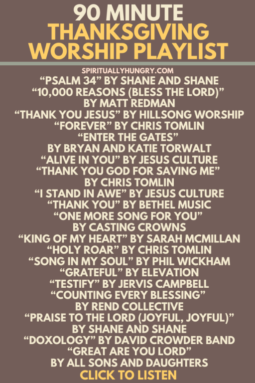 hanksgiving Worship Songs | Songs For Thanksgiving | Christian Thanksgiving Songs