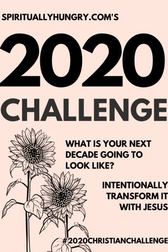 2020 Christian Challenge | Bible Study | Scripture List | Bible Verses For Women