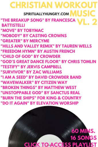 Christian Workout Music Playlist Vl. 2   Christian Worship   Christian Music