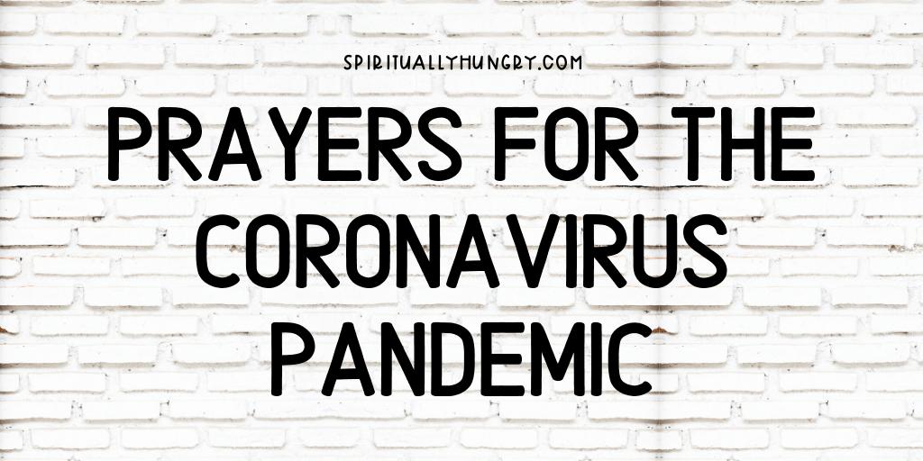 Prayers For Coronavirus