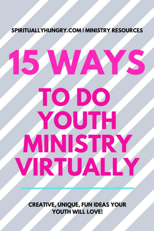 15 Unique Ways To Do Youth Ministry Virtually | Youth Group | Teen Ministry | Student Ministry
