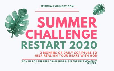 Restart 2020 Summer Scripture Challenge