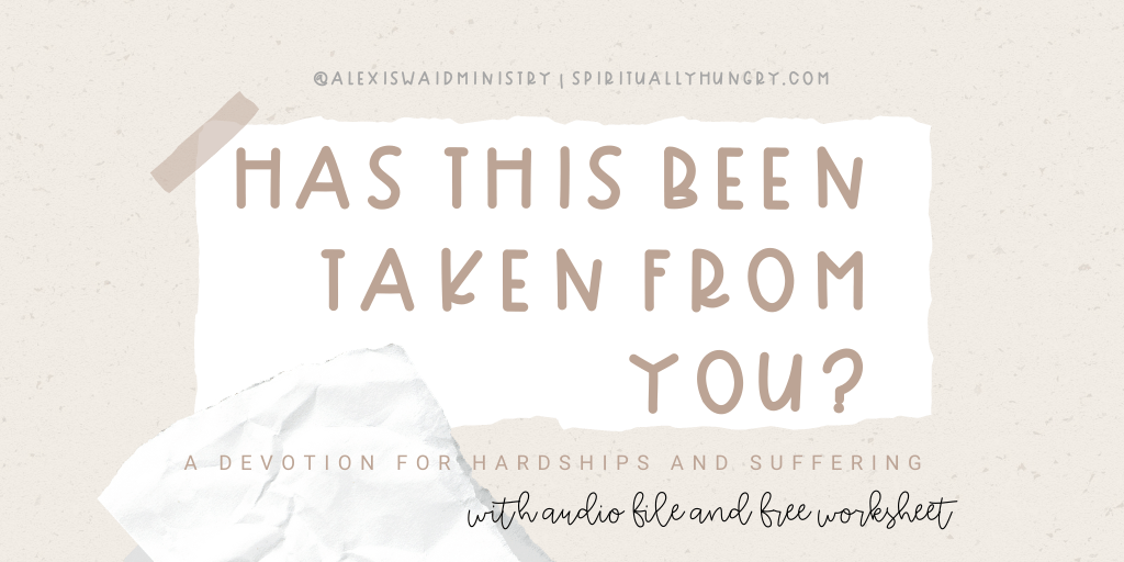 Devotion For Hardships And Suffering | Women's Devotions | Devotions For Women