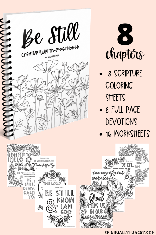 Be Still Coloring and Devotion Book