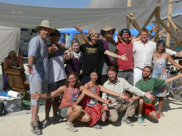Christian Science Camp at Burning Man 2013