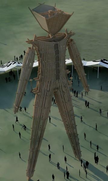 Burning Man 2014 Pavilion