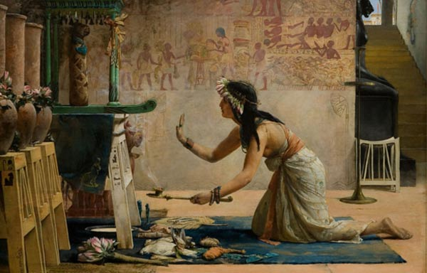Ancient Egyptian love spells in the world