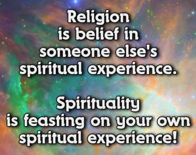 The Difference Between Spiritual and Religious