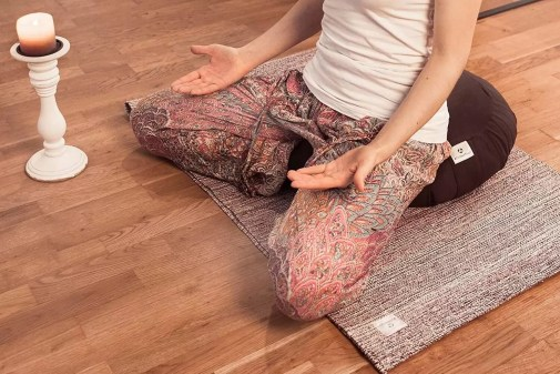 Coussin de méditation zafu de la gamme moogli