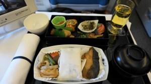 ANAビジネスクラス機内食