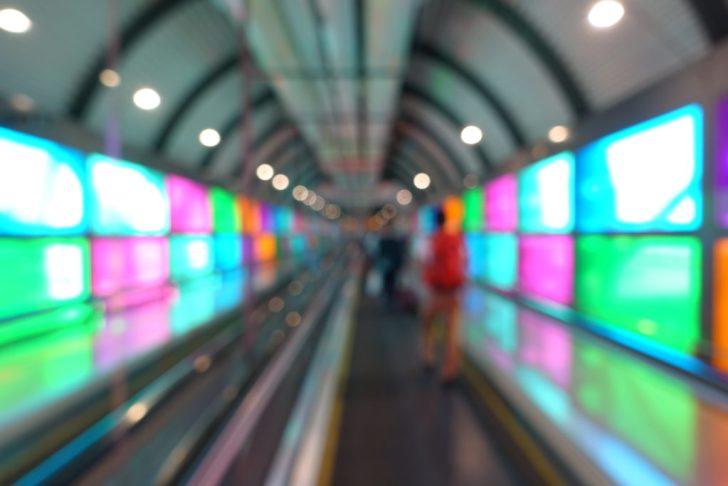 スペイン-マドリッドの空港