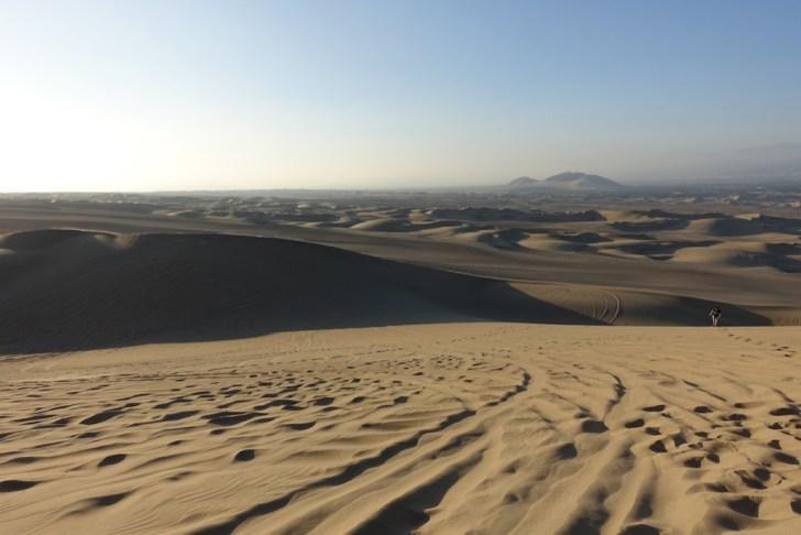 ワカチナの砂丘