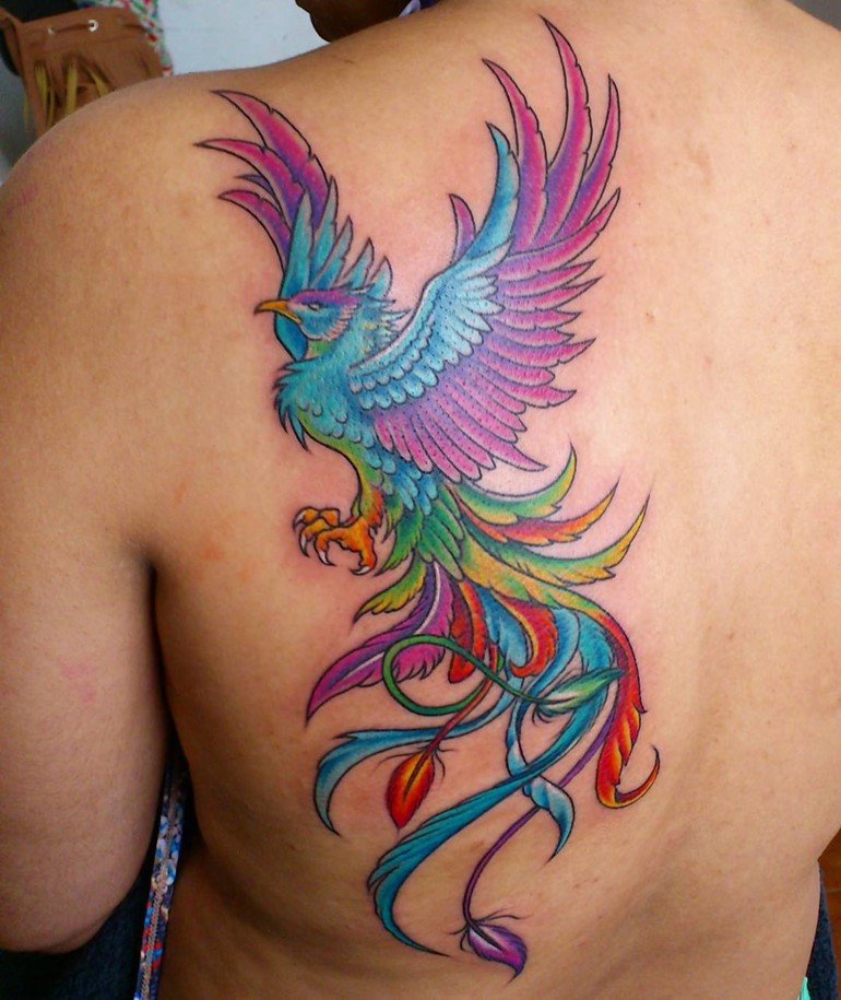 60+ Incredible Phoenix Tattoo Designs You Need To See