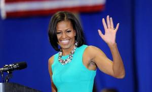First Lady Michelle Obama meets with campaign supporters   - VA