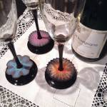 Wine glass markers by Angelika