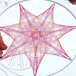 Drawing a large spirograph pattern with Wild Gears