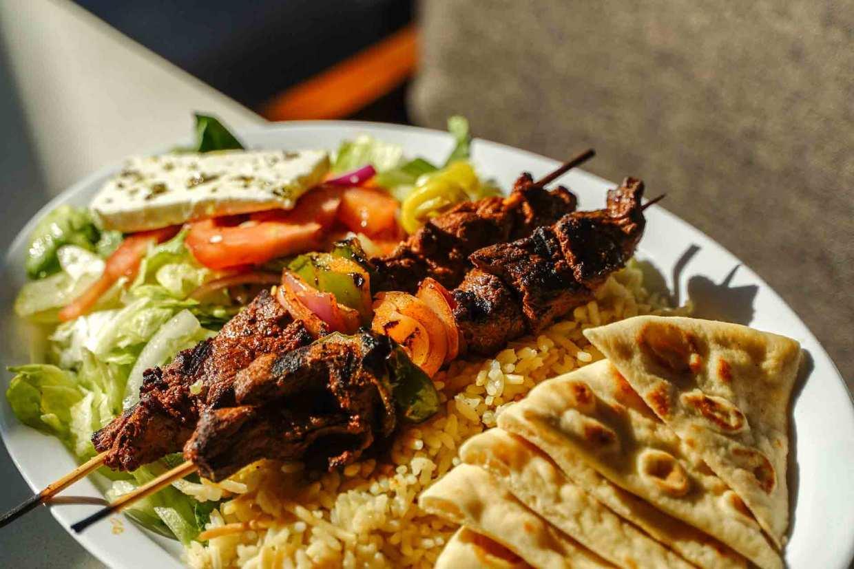 Spiros Mediterranean Cuisine - Kabob Platter
