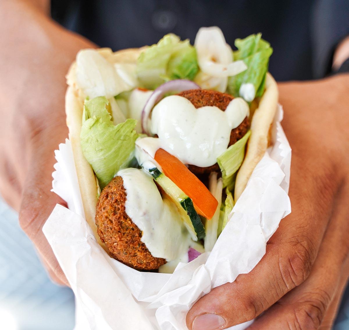 Spiros Mediterranean Cuisine - Souvlaki Sandwich