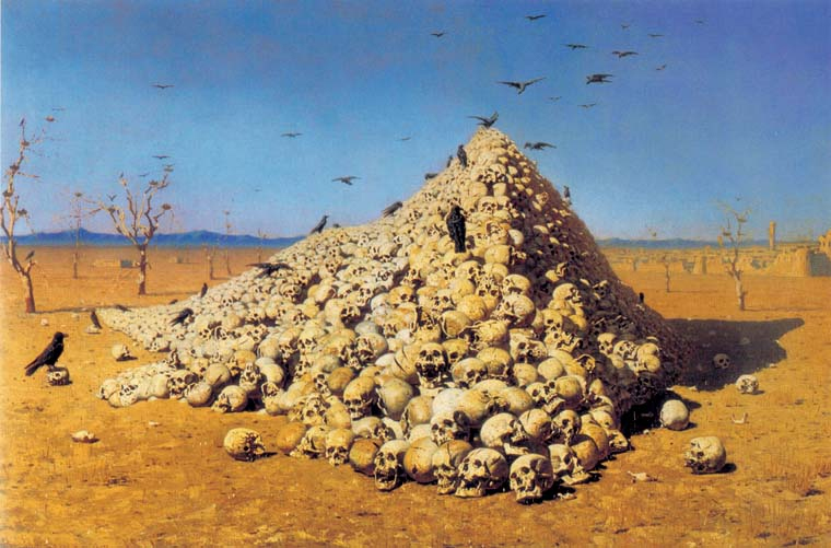 Image result for tamerlane skull towers