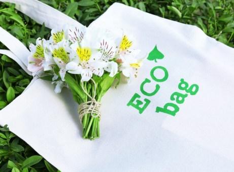 Χρησιμοποιήστε τσάντες από ανακυκλώσιμα υλικά.