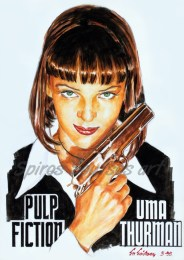 pulp_fiction_uma_thurman_movie_poster_painting_tarantino