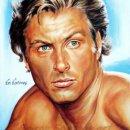 Lex_Barker_tarzan_painting_portrait_poster_print