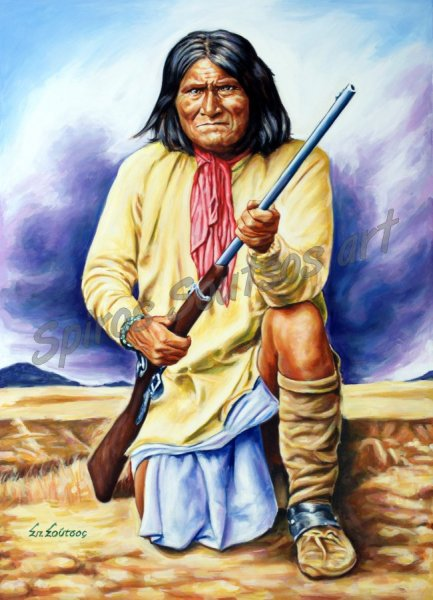 Geronimo_painting_portrait_canvas_poster_apache_indian