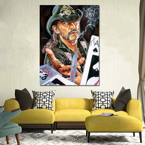 Lemmy_kilmister_painting_portrait_motorhead_poster_print_canvas