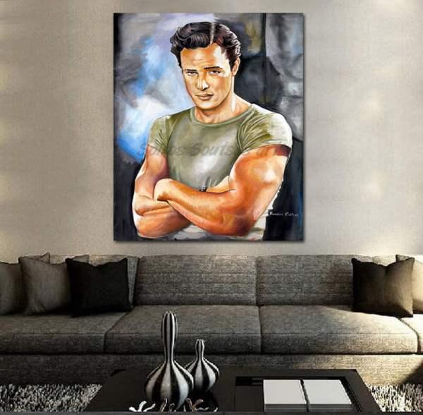 Marlon_brando_painting_portrait_canvas_print_sofa
