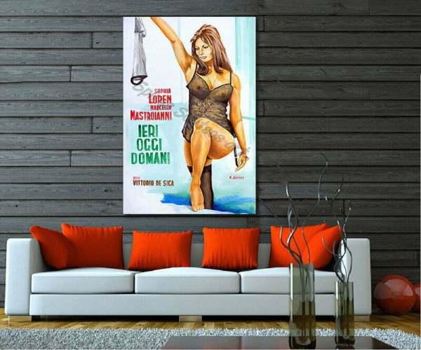 ieri_oggi_domani_poster_sophia_loren_print_canvas