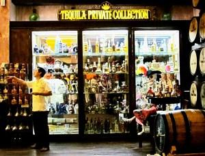лавка текилы в мексике