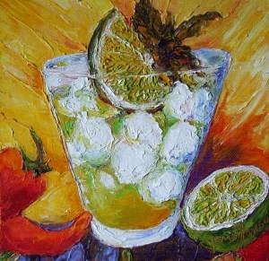 Мохито – популярный кубинский коктейль