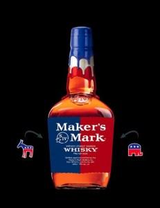 Оформление бутылки уникального бурбона Maker's Mark разработано так, чтобы запоминалось с первого взгляда