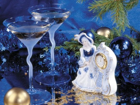 коктейли из мартини, коктейли из водки, блюда на новый год