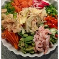 Japansk inspireret salat
